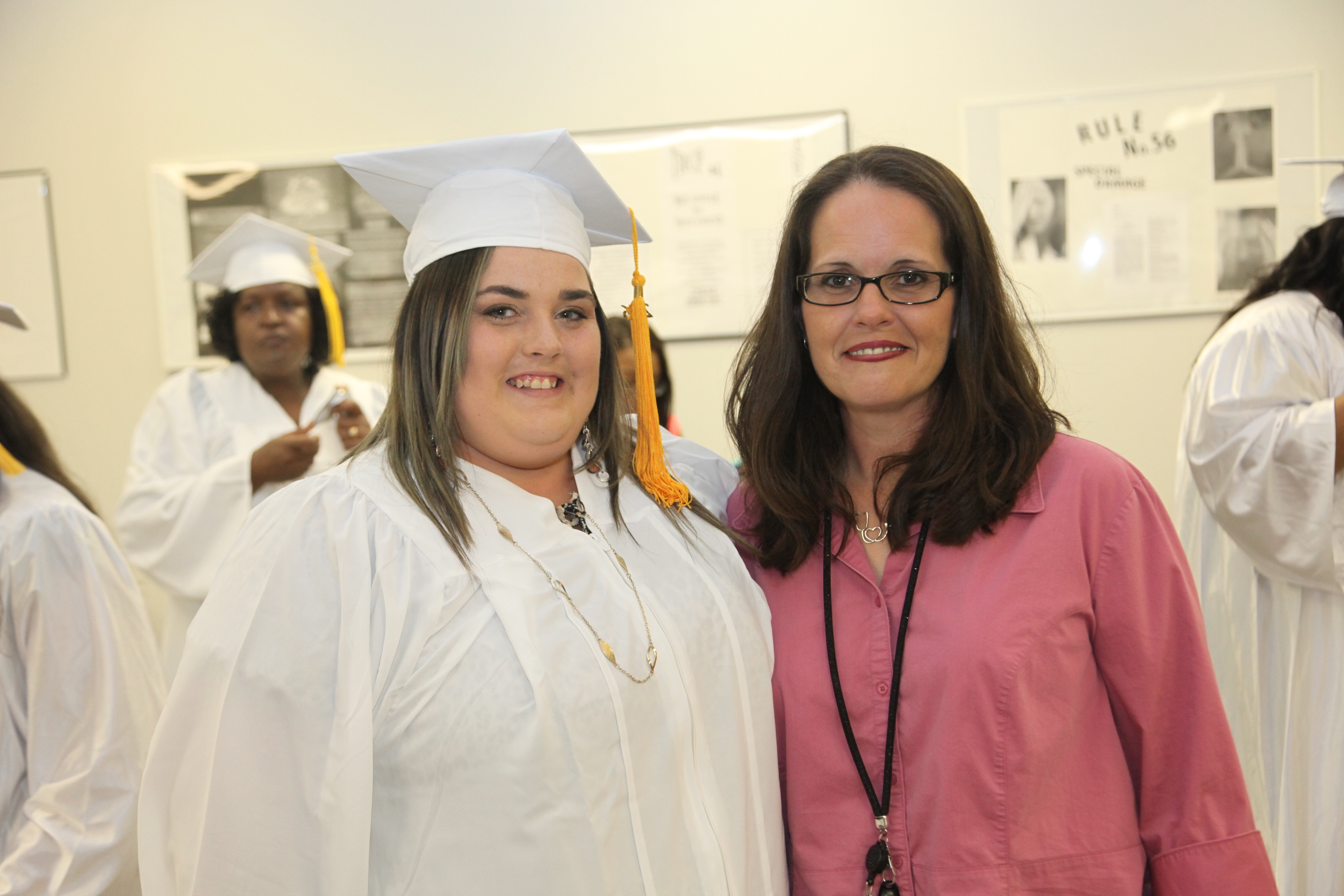 Graduate with Instructor